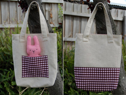 Bag and Bunny for Miss A